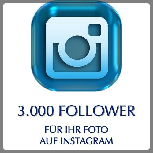 3000 instagram follower