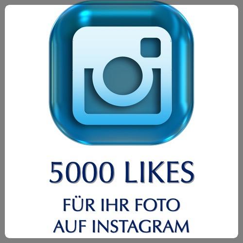 5000 likes bei instagram