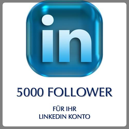 5000 follower linkedin